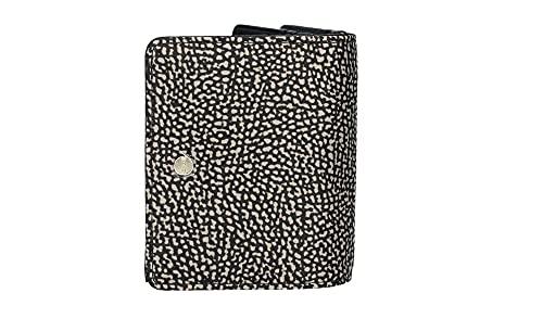 Portafoglio Borbonese nylon OP mini 930113 I15 X11 natural/black