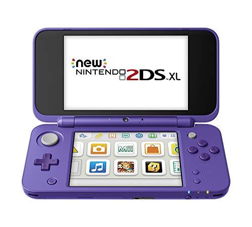 New Nintendo 2DS XL - Purple & Silver (Renewed)