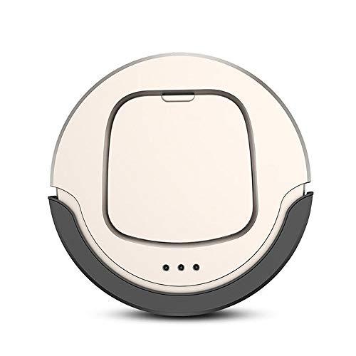 Aspiradora robot Aspirador inteligente automático remoto Vacuum Cleaner Control de Punto de limpieza 400ml 1300mAh polvo Box Aspiradora de varilla sin cable ( Color : Gold , Size : One size )