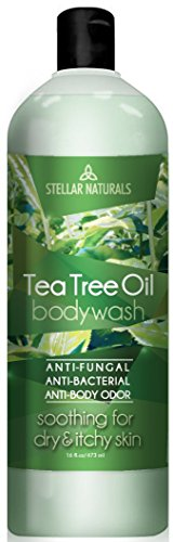Stellar Naturals Antifungal Tea Tree Oil Body Wash