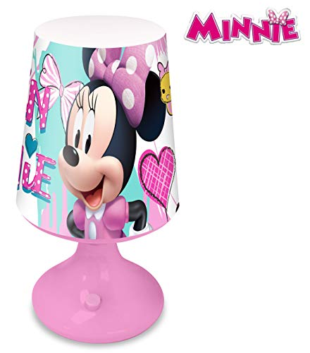 Disney KD-WD19718 Lampara escritorio de Minnie Mouse, Multicolor