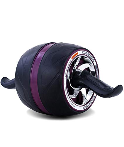 Bibowa Giant Ab Roller Wheel with Resistance and Knee Pad,Ab Carver Pro Roller for Core Workouts Easy Abdominal Exercises at Home,Office,Gym