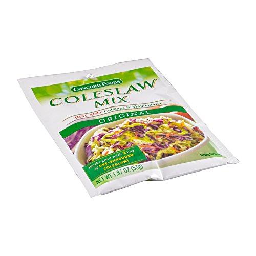 Concord foods Cole Slaw Mix, 1.87 OZ Pouch