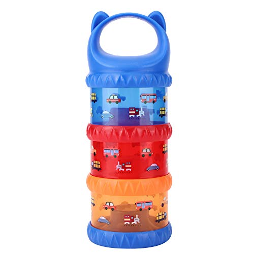 Caja de almacenamiento de leche en polvo para bebés de 3 colores,dispensador de leche en polvo con...