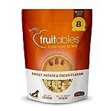 Fruitables Dog Treats | Dog Training Treats | Low Calorie Crunchy Treats | Sweet Potato & Pecan | 7 Ounces