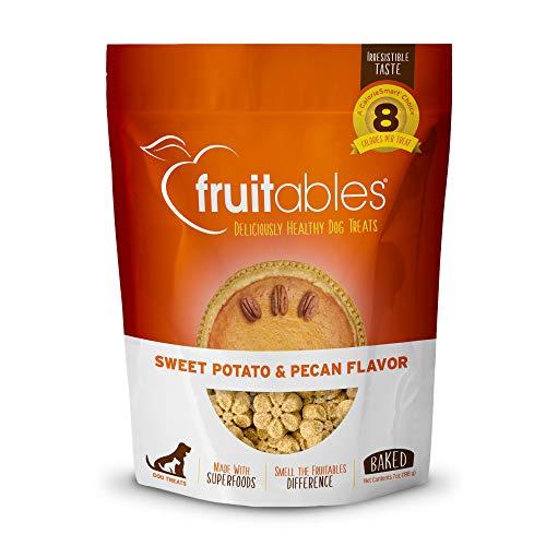 Fruitables Healthy Dog Leckereien Süßkartoffeln Sweet Potato & Pekannuss, 206 g