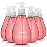 Method Gel Hand Soap, Pink Grapefruit, 12 Fl Oz (Pack of 6)