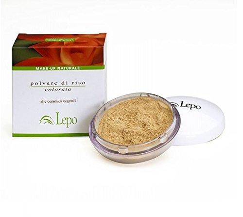 LEPO Poudre Poudre de riz Couleur Fixation Astuce 20 gr Maquillage Visage