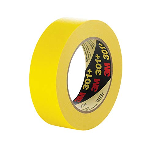 "Image of 3m 301+ Masking Tape 0.5"" (half inch)"