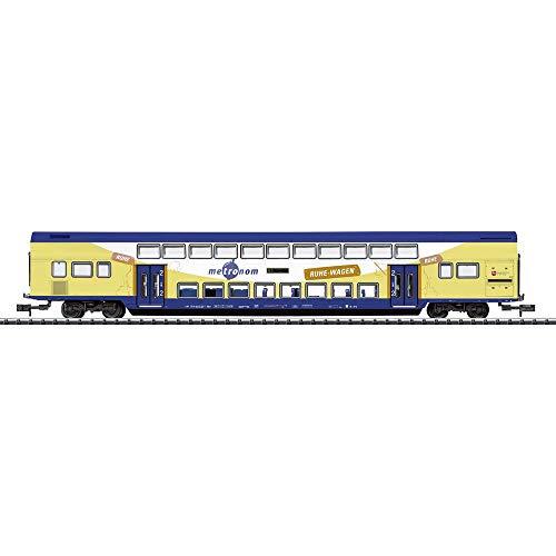 MiniTrix T15946 N Doppelstockwagen der Metronom Eisenbahngesellschaft mbH 2. Klasse