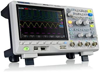 Siglent 100Mhz Digital Oscilloscope 4 Channels Standard Decoder