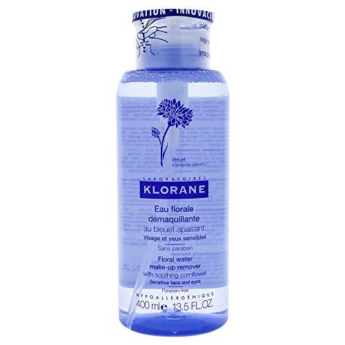 Klorane Agua Desmaquillante Suavizante al Aciano 400 ml, Estándar (1529350)