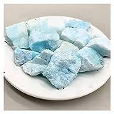 YSDSPTG Piedra de Cristal Piedras Azules Naturales Cristal Piedra Original Piedra Piedra Piedra Piedra (Size : 500g)
