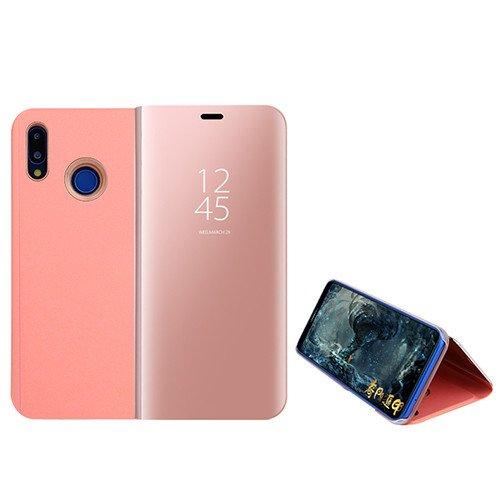 Funda® Espejo Enchapado Flip Funda para Xiaomi Mi MAX 3 (Oro Rosa)