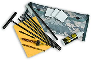 Kleenbore Gun Care Digital Camo (A) -AR-15/M Field Cleaning Kit (MOLLE Attachment Device)