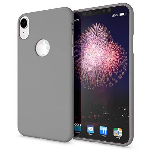 NALIA Funda Neon Compatible con iPhone XR, Carcasa Protectora Movil Silicona Ultra-Fina Gel Bumper Estuche, Goma Cubierta Telefono...