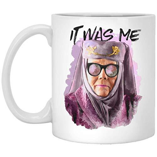N\A Taza Got Lover Wearuz Tell Cersei It Was Me Olenna Tyrell Taza Regalos Café de cerámica - Taza de té Impresionante
