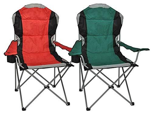 HI Regiestuhl Deluxe aus Stahl Faltstuhl Camping Stuhl Klappstuhl Anglerstuhl