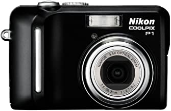 Nikon Coolpix P1 8MP Digital Camera with 3.5x Optical Zoom (Wi-Fi Capable)