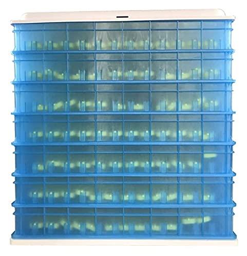 YQQQQ Incubadora de Huevos Grandes 840 Huevos Digitales Hatcher Control de Temperatura de Giro automático para incubar Ganso Paloma (Color : Blue, Size : 79x55x82cm)