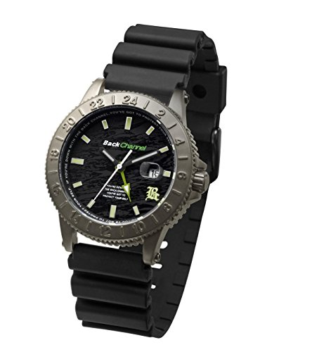 ZERONE Crossover Back Channel 24-7 G.L Camo IP Titanium Analogue Watch