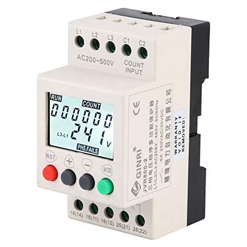 JVR800-2 Spannungsschutzrelais, Überspannungsschutz, 3-Phasen Überwachungsrelais
