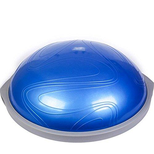 Wly&Home Balance Board Met Zijgrepen, Therapie Gyroscoop Voor Fysiotherapie, Diameter 63Cm, Anti-slip Bodem En Top, Equilibrium Board, Wobble Board, Blauw