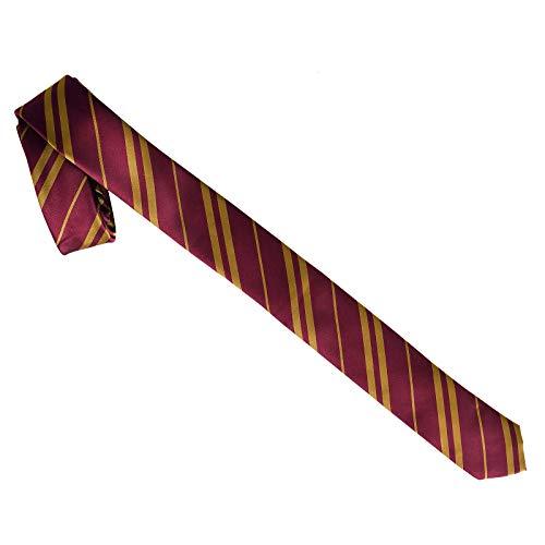 Harry Potter Krawatte Haus Gryffindor schmal 152x5,2cm rot gelb