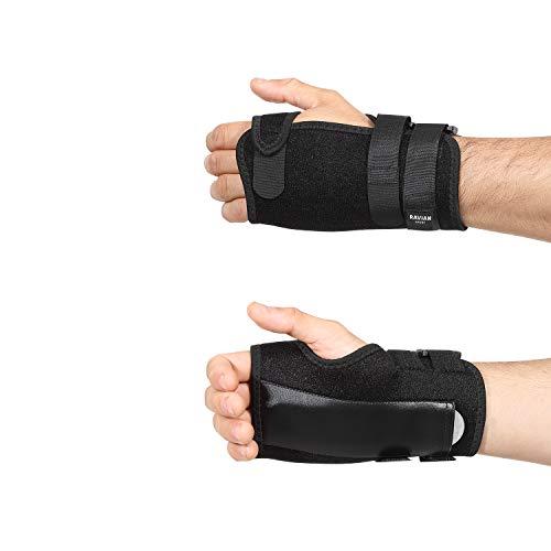 RAVIAN muñequera soporte, ajustable tendinitis tunel carpiano muñequera para mujeres y hombres, adecuado para ambas manos, alivio del dolor articular, deportiva, lesión por esfuerzo repetitivo