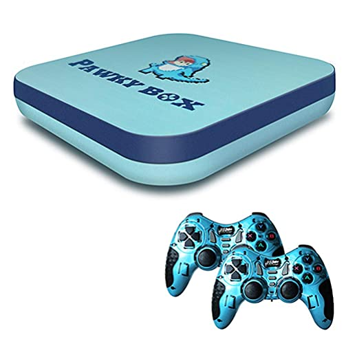 Consolas de Videojuegos Retro compatibles con Consolas de Salida Hdmi 4K con Tarjeta TF de Soporte de enfriamiento para Gamepad