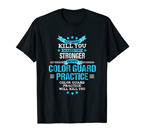 Color Guard Tshirt Gift Funny Marching Band Flags