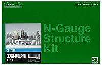 グリーンマックス Nゲージ 2146 工場付属設備B (未塗装キット)