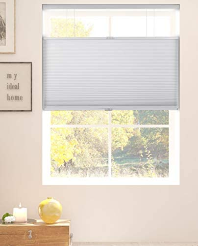 Arlo Blinds White Room Darkening Top Down Bottom Up Deluxe Cordless Cellular Shades Size 24 product image