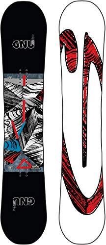 Gnu Asym Carbon Credit Wide Blem Snowboard Mens Sz 162cm (W)