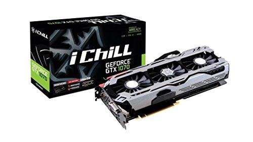 Inno3D C107V4-1SDN-P5DNX GP104-200-A1 Pascal 8GB GDDR5 Grafikkarte schwarz