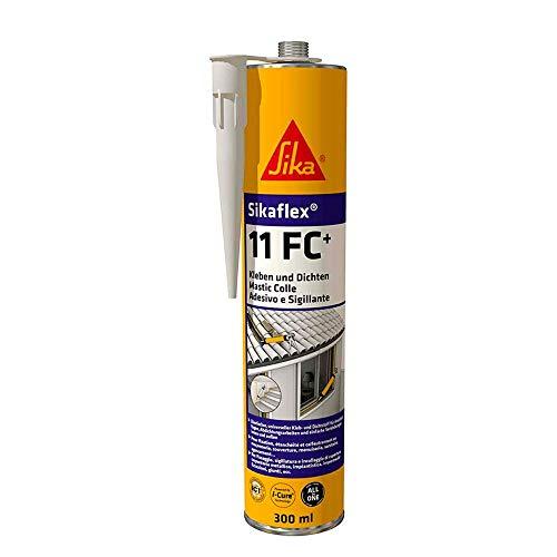Sikaflex 11 FC+ Elastischer Kleb- und Dichtstoff 300 ml schwarz