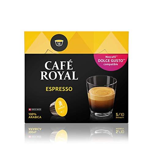 Café Royal Espresso 48 Nescafé Dolce Gusto®* kompatible Kapsel (Intensität 5/10) 3er Pack (3 x 16 Kaffeekapseln)