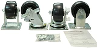 "4"" Job Box Caster Kit with Brakes"