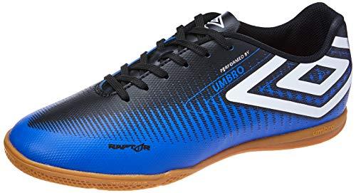 Tênis Indoor Raptor, Umbro, Adulto Unissex, Azul/Preto/Branco, 43