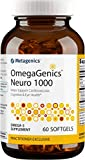 Metagenics - OmegaGenics Neuro 1000, 750 mg DHA and 250 mg EPA, Concentrated, Purified Source of Omega-3 Fatty acids, 60 Count
