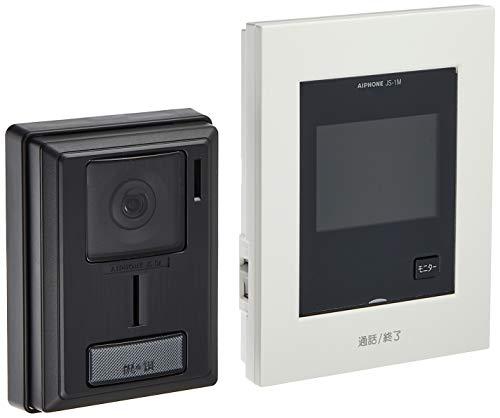 アイホン テレビドアホン シンプルデザイン AC電源直結式 JS-12