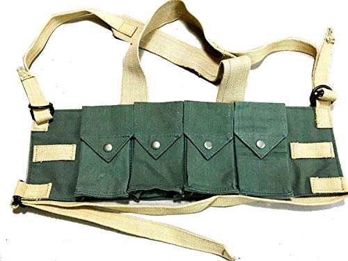 Chest RIG FN FAL Series, G3 Rifles, L1A1 Similar,WWII Reproduction, WW2 Reproduction,WWII/WWI, Collectibles Goods,Collectibles Products,WWII repro