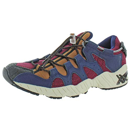 ASICS Tiger Gel-Diablo - Zapatos para hombre, rojo (Córdobán/Abrigo de marinero), 46 EU