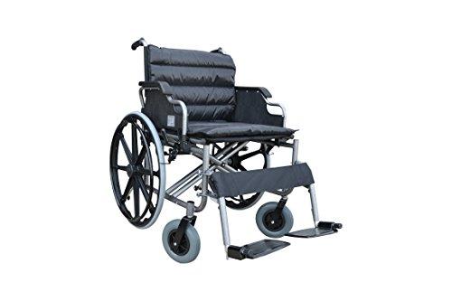 POLIRONESHOP THIRA Rollstuhl faltbar transportrollstuhl Bariatrischer XXL