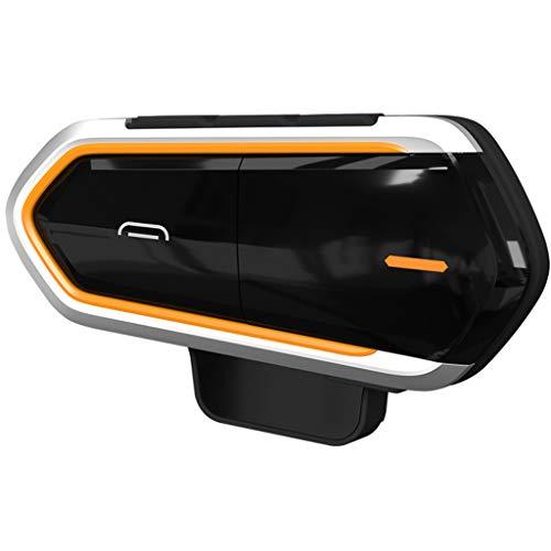 MagiDeal 1000M Motocicleta FM Casco Intercomunicador Auriculares Música Interfono