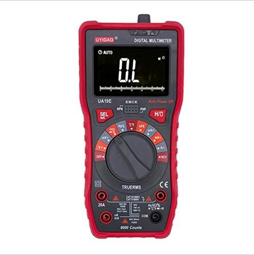 ZGQA-GQA Multímetro digital de alta electricista voltímetro de corriente digital multifuncional medidor eléctrico correa analógica tira