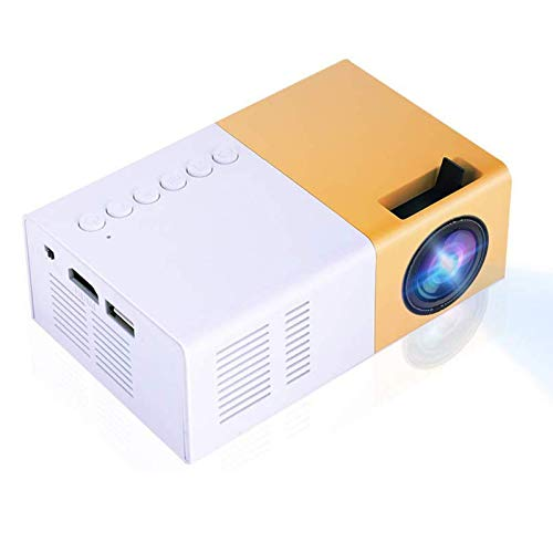 Vbestlife Mini Elegante Proyector LED Portátil 1080P Full HD...
