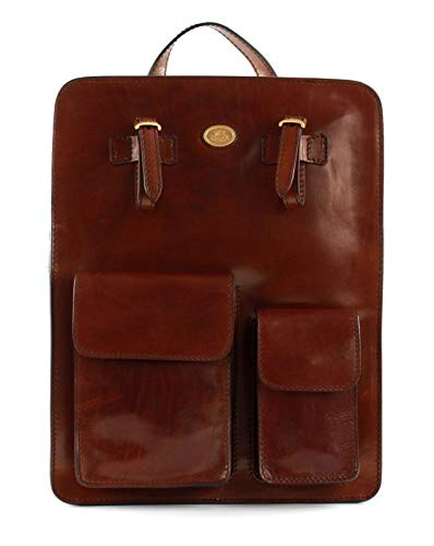 The Bridge Story Uomo Backpack 14? Red Brown