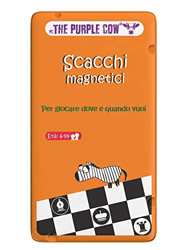 Purple Cow- Scacchi magnetici Gioco, 7290016026856