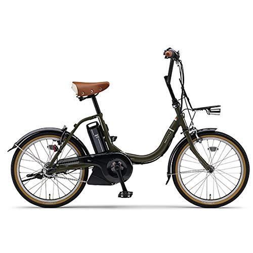 ヤマハ(YAMAHA) 電動アシスト自転車 PAS CITY-C PA20CC マットオリーブ